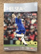 Chelsea v Scunthorpe United - FA Cup 3rd Round 2004/05 Programme