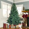 7/8Ft Artificial PVC Christmas Tree W/Stand Holiday Season Home Outdoor Indoor