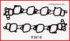Engine Intake Manifold Gasket-VIN: W, SOHC, Natural, Ford, 16 Valves IF281-B