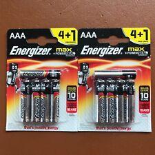 10 x NEW Energizer AAA MAX Alkaline Powerseal Batteries LR03 MX2400 MN2400 MICRO