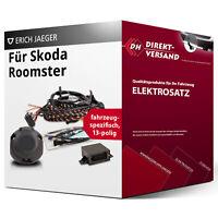Für Skoda Roomster Typ 5J Elektrosatz 13polig spezifisch top Esatz inkl. EBA neu
