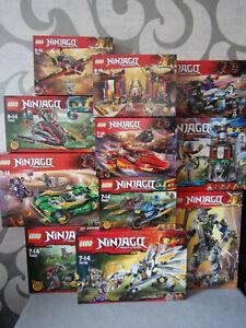 Lego ninjago Master Of Spinjitzu - Various Set's for Selection - Nip