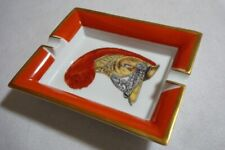 Authentic   HERMES  Vintage Porcelain Cigar Ashtray