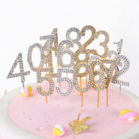 Dessert Happy  Birthday Cupcake Party Decoration Cake Topper Wedding Supplies