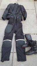 ladies motorbike set jacket trousers 10 boots 5