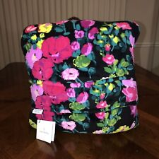 Nwt Vera Bradley Travel Fleece Blanket In Hilo Meadow