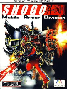 Shogo: Mobile Armor Division PC Game 1998