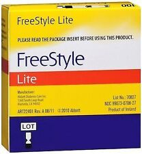 FreeStyle Lite Glucose Blood Test Strips