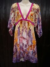 BNWT 100% originale ROBERTO CAVALLI DRESS IT 42 UK 10-non perdere!!!