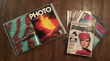 The Photo Magazine, A Marshall Cavendish Photography Magazines Lot of 35 Issues