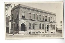 Savings Bank, Rockwell City, Iowa RPPC