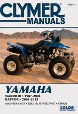 2004-2013 Yamaha YFM350S Warrior, 1987-2004 YFM350X Raptor Repair Manual M4875