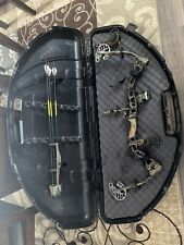 BowTech Allegiance Left Hand Compound Bow with Hard case and accessories.
