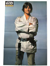 "Luke Skywalker Large Star Wars Poster 22""x33"" Mark Hamill"