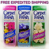 Carpet Fresh Rug & Room Deodorizer 3 Pack. Home House Kitchen Odor Smell Cleaner
