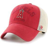 '47 Brand MLB L.A. Los Angeles Angels MVP Brayman Adjustable Hat Cap trucker