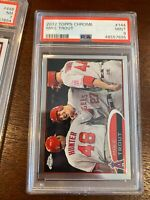 2012 Topps Chrome 144 Mike Trout [PSA 9]
