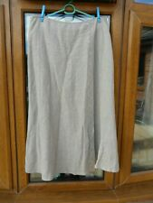 ARIA,LADIES SIZE 14,BEIGE KNEE LENGTH SKIRT