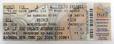 Prince MUSICOLOGY 6/ 21/ 2004 Palace Auburn Hills Detroit Ticket STUB