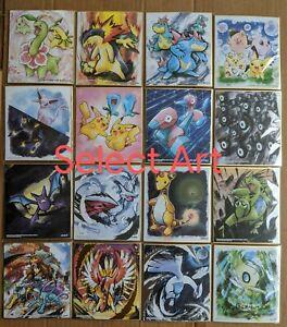 Pokemon Shikishi Art Part 2 Artwork Ho-Oh  Booster Pikachu Typlosion Lugia US