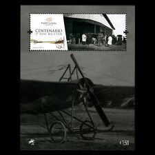 Portugal 2016 - Anniv. the First Portuguese Military Flight Aviation s/s - MNH