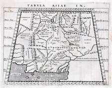 Antique map, Tabula Asiae IX