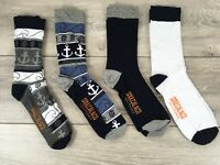 Soul Cal 4 Pairs Mens Socks UK 6-11 EU 39-45  A363-20
