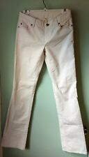 Women's J. Crew Favorite Fit ivory Corduroy Pants 2T Vintage Stretch tall