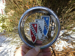 1960 Buick Grille Emblem 1192789 1193359   1961 1962 1963 1964
