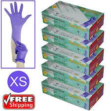 500pcs 3.5mil Soft Nitrile Powder-free Medical Exam Gloves (Latex Vinyl Free)XS