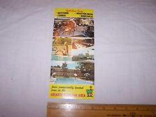 HOLIDAY INN Oversized Postcard HOUSTON TX Area BAYTOWN NASA CONROE HUNTSVILLE