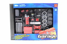 REPAIR GARAGE SERIES 1/24 INCLUDES AUTHENTIC REPLICAS OF REAL ACCESORIES