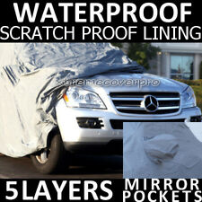 2011 MERCEDES-BENZ GL450 GL550 5LAYERS WATERPROOF CAR COVER w/M