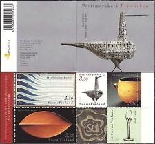Design Kaipiainen Kallela Wirkkala Salmenhaara Finland Mint Stamp Booklet 2000