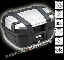 bauletto suitcase Givi Trekker 52 bmw f 700 800 gs adventure 13 staffa e piastra
