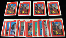 1983 Topps A-Team Complete Sticker Set (12 card set) Mint Free Shipping