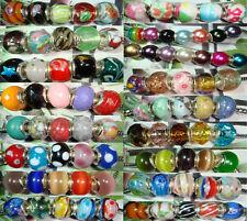 100 Abalorios Pulsera Europea en Plata de Ley 925 Fit European Bracelet