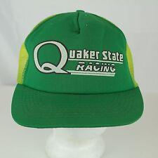 a7c3b33c Quaker State Racing - Vintage Snapback Mesh Trucker Hat Cap - Auto Car  NASCAR