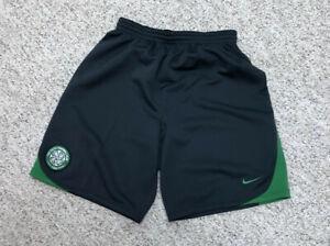NWT Nike Team Celtic Football Club Shorts Gray Size S