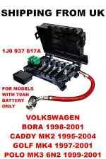 TERMINALE Della Batteria Scatola dei fusibili VW BORA GOLF mk4 CADDY POLO 2 mk4 mk3 6n2 1j0937617a