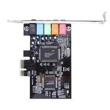 PCI-E PCI Express 6 Channel 5.1 CMI8738 Audio Digital Sound Card PC windows7/8