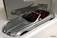 MINICHAMPS 1/18 - 100 037131 MERCEDES BENZ SLR MCLAREN ROADSTER MET GREY DIECAST