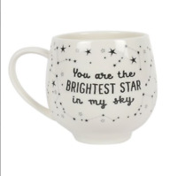 MUG You Are The Brightest Star In My Sky' Boxed Ceramic GIFT MUG/CUP