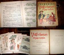 vieilles chansons du pays nantais 5ème fasc. 6 partitions piano chant 1905