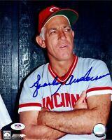 Sparky Anderson autographed signed 8x10 photo MLB Cincinnati Reds PSA COA Tigers