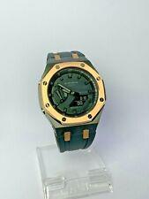 Nueva costumbre Bisel De Oro Rosa AP casioak Offshore Reloj Casio G-shock GA-2100-1A1