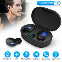 Bluetooth 5.0 Headset TWS Wireless Earphones Mini Earbuds Stereo Headphones A6s