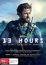 13 HOURS - The Secret Soldiers Of Benghazi : NEW DVD