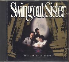 SWING OUT SISTER - It's better to travel - CD 1987 NEAR MINT CONDITION