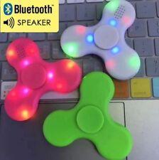 2X Nouveau haut-parleur Bluetooth DEL Fidget Spinner Main Doigt offre